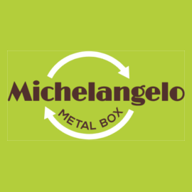 Michelangelo metal box